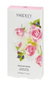 Роскошное мыло с ароматом Английской Розы