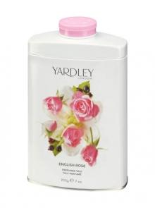 Парфюмированный тальк с ароматом Английской Розы