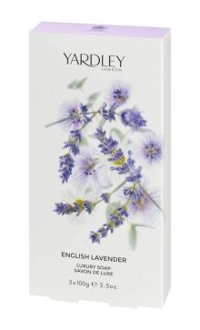 Роскошное мыло с ароматом Англйской Лаванды
